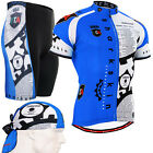 FIXGEAR Cycling jersey & bicycle padded shorts pants bike + Beanie GIFT g502-SET