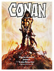 CONAN THE BARBARIAN Movie Poster RARE Arnold Schwarzenegger