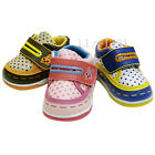 GIRLS INFANTS TRAINERS BOYS KIDS NEWBORN VELCRO SKATE CASUAL SHOES Sz1 2 3 4 5