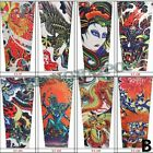 Pack of 8 Tattoo Sleeves Arm Stocking Cover Fake Fancy Dress Party Men Temporary