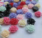 100&20 Lots Upick Small Rose Flat back Buttons Scrapbooking Kid's DIY Craft B211