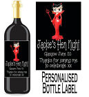 PERSONALISED BOTTLE LABEL WEDDING DAY GIFT FAVOURS WINE, SPIRIT OR CHAMP WDBL 2