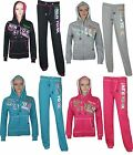 WOMENS LADIES NEW YORK USA HOODIE TRACKSUIT TOP JOGGING BOTTOMS TROUSERS 8 10 12