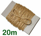 Soft 3-Ply Natural Jute Twine String Shabby Chic Card Craft Hanging Decoration