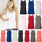 Bella Ladies Flowy Racerback Tank Top Womens XS, S, M, L, XL