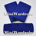 Wristband Cotton Sweatband Sport Runner Basketball Tennis Gym Headband Set Lot