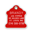Fireplug Hydrant Shaped Pet Tag  Durable Plastic Acrylic Personalized Reflective