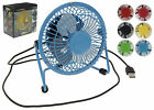 Mini Cooling Computer/Laptop/Desk Fan USB Powered - Supermute Choice of Colours