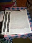 p. NOS Letraset   Letratone Various Styles  10 x 15 Sheet    Use Drop-Down Box