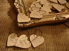 EAST OF INDIA LITTLE HEART SIGN & GIFT TAGS ♥ LOVE YOU ♥ MR & MRS ♥ WEDDING ♥