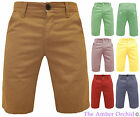 MENS SHORTS CASUAL SUMMER STRAIGHT DESIGN SOFT COTTON JEANS CHINO 28 30 32 34 36