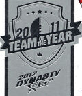 *SINGLE* 2012 Select NRL Dynasty 2011 TEAM OF THE YEAR