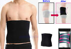 Mens Male New Slimming Lift Body Shaper Tummy Belt Underwear Waist Support Black