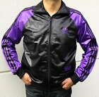 Adidas Chile 62 TT Trainings Jacke Schwarz / Lila Herren Jacket Gr. XS - XL