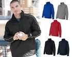 Rawlings Mens Size S-3XL 1/4 Zip Dobby Vented Pullover Wind Shirt Jacket Jumper
