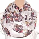 The SKULL Huge XL Circle Loop Infinity Scarf Snood New On Trend Celeb A/W12