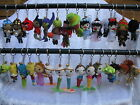 ☆ Voodoo Doll Keyring Keychain Charm ☆ String Doll Characters ☆ *Choose Design ☆