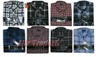 MENS FLANNEL LAMBERJACK CHECK WARM BRUSHED  COTTON WORK  SHIRTS M TO XXL