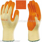 2 x Venitex Safety Knitted Latex Palm Work Gloves Hand Protection Builders Grip