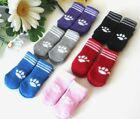 USA SELLER Non Slip Grip Dog Cat Socks Skid Free for Small Breed size S M L