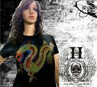 Tee Shirt Femme Hell Head  Dragon Chinois  STRASS , Mode,  Fashion, Original