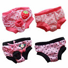 S/ M/ L Reusable Female Dog Diapers Dog Sanitary Panty Dog Clothes Pet Apparel
