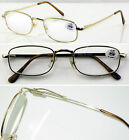 (R73)Gold Quality Metal Frame Reading glasses with Spring arm+1+1.5+2.5+3+3.5+4