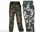 MensThermal,Fleece Lined Army Combats Cargo Camouflage Military Trouser/ Pants