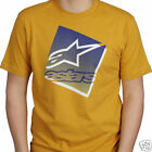 ALPINESTARS t shirt - On Top gold   {Size M}