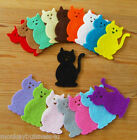 Felt Die Cuts - 30 - Cat - Animals - Kids - Applique - Clothes - Cardmaking
