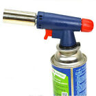 Flamethrower Gas Torch Butane Burner Auto Ignition Camping Welding BBQ Outdoor