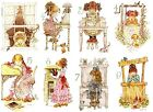 SARAH KAY STICKER WALL DECAL OR IRON ON TRANSFER T-SHIRT FABRICS HOLLY HOBBIE #1