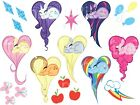 MY LITTLE PONY STICKER WALL DECAL OR IRON ON TRANSFER T-SHIRT FABRICS CUTIE MARK