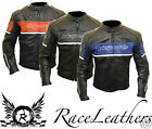 RK SPORTS CUSTOM MOTORCYCLE MOTORBIKE BIKER LEATHER JACKET CE ARMOUR THERMAL
