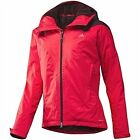 adidas W Hiking Climaproof Storm Loft Jacket Sizes 14-16 Radianred RRP £170 BNWT