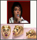 ELVIS LION RING THATS THE WAY IT IS STAGE RING