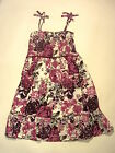 GIRLS NEW MINI BODEN SUMMER DRESS PINK FLORAL STRAPPY SIZES 2-3 AND 9-10