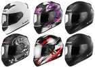 LS2 FF352 FULL FACE MOTORCYCLE MOTORBIKE HELMET SOLID WOLF ONE FLUTTER ROOKIE