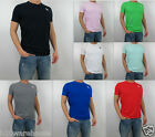 NWT Abercrombie & Fitch Men Slim Muscle Fit  Kilburn Mountain Tee V Neck T Shirt