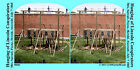 Hanging Lincoln Conspirators Civil War SV Stereoview Stereocard 3D 00603