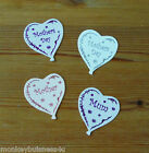 5 - Heart Balloon - Mothers Day - Mum - Mother - silver/pink/purple - Birthday