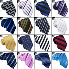 MENS PATTERNED TIE striped lines stripes business necktie neck CHOOSE DESIGN
