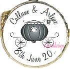 PERSONALISED WEDDING DAY BLACK CARRIAGE MINT CHOCOLATES FAVOURS SWEETS WDMC 21