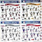 Family Decals 25 Pack (NEW) Auto Car Stickers Emblems MLB -Pick Team on Ebay