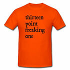 THIRTEEN POINT ONE HALF MARATHON RUNNER RACE RUN RUNNING FUNNY TRACK T-SHIRT