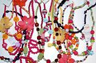 NWT Gymboree Bead Flower Gem Animal Charm Necklace ONE