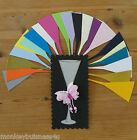 Wedding Die Cuts - Large Champagne Flute - Topper - Invitations - Party - Cards