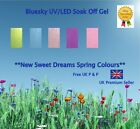 """NEW Spring 2013 """"Sweet Dreams"""" Bluesky Collection + IBN Crystal UV/LED Gels"""