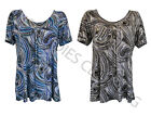 New ladies smock top plus Size 14,16,18,20,22,24,26,28,30,32 #20