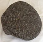 Grey/Plain/Donegal/Tweed/Vintage/Cap/Hanna Hats/Hanna Caps/Irish/Ireland/New